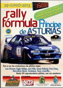 Rally fórmula Príncipe de Asturias