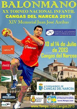 XX Torneo Nacional Infantil de Balonmano  Cangas del Narcea 2013