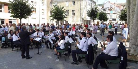 concierto de banda de música de cangas del narcea