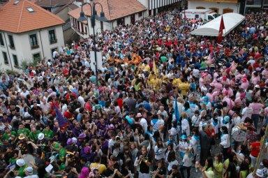 Pregón de fiestas del Carmen en Cangas del Narcea