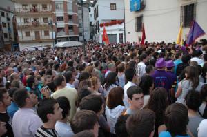 pregón de las fiestas del Carmen en Cangas del Narcea
