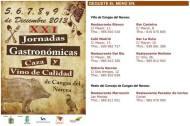 XXI Jornadas Gastronómicas de la Caza y Vino de Calidad de Cangas